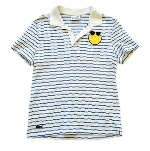 Lacoste X Yazbukey Men's Polo Size Small